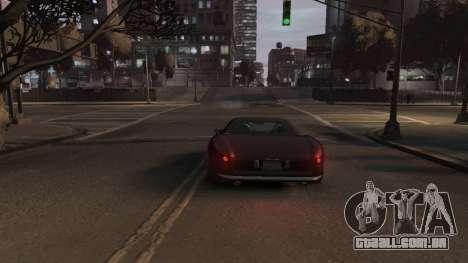 GTA V Stinger Classic para GTA 4 vista de volta