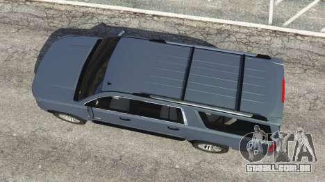 Chevrolet Suburban 2015 [unlocked] para GTA 5