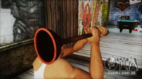 Plunger HD para GTA San Andreas terceira tela