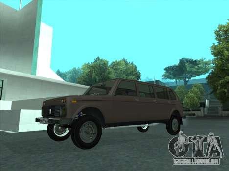 VAZ 2131 Samudera para GTA San Andreas vista interior