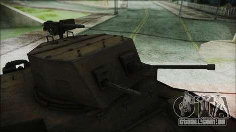 T7 Combat Car para GTA San Andreas vista direita