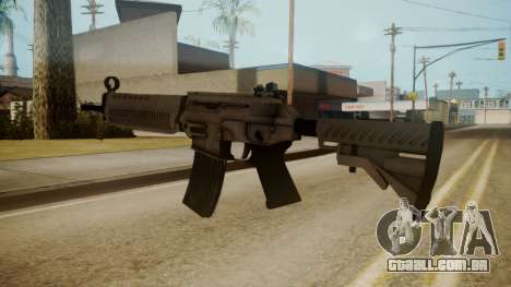 SIG-556 Patrol Rifle White para GTA San Andreas terceira tela