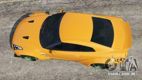 GTA 5 Nissan GT-R (R35) [LibertyWalk] voltar vista