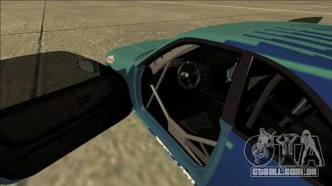 Nissan Skyline R33 Drift Falken para GTA San Andreas vista interior
