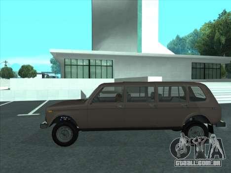 VAZ 2131 Samudera para GTA San Andreas esquerda vista