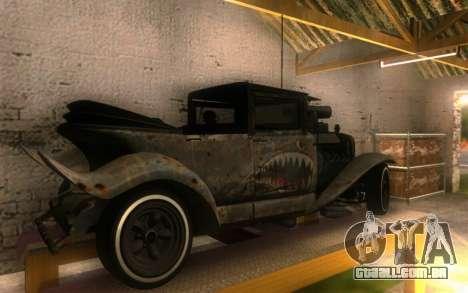 Albany Frenken Stange Rusty Edition para GTA San Andreas traseira esquerda vista