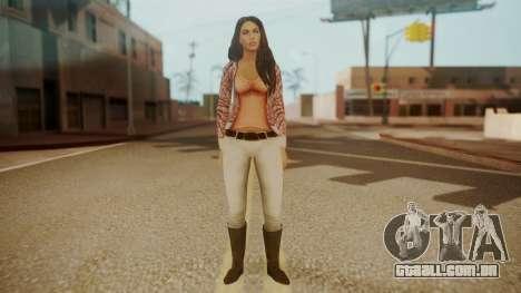 Megan Fox para GTA San Andreas segunda tela