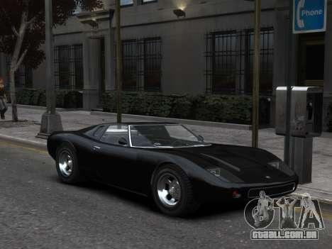 GTA 5 Monore Imporeved para GTA 4 traseira esquerda vista