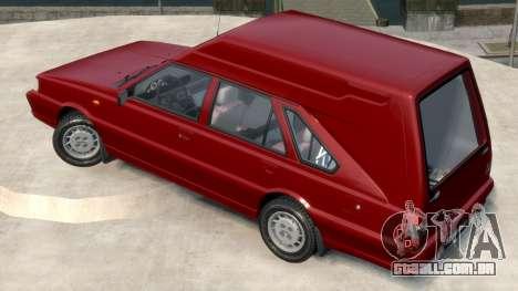 Daewoo-FSO Polonez Cargo Van Plus 1999 para GTA 4 esquerda vista