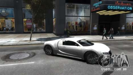 Adder HQ from GTA 5 para GTA 4 vista interior