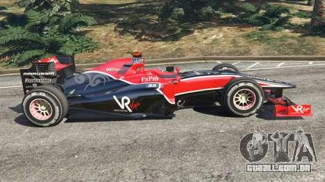 GTA 5 Virgem VR-01 [Timo Glock] v1.1 vista lateral esquerda