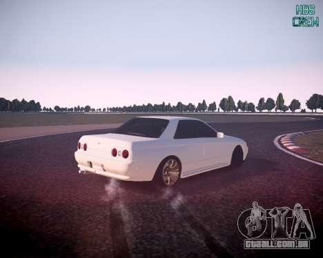 Nissan Skyline ER32 para GTA 4 esquerda vista