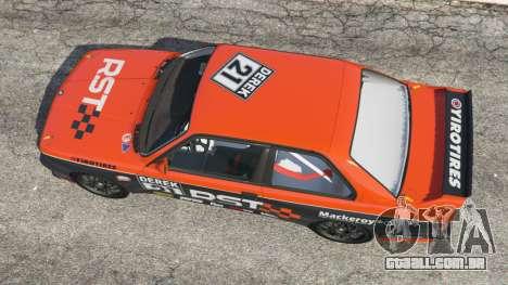 GTA 5 BMW M3 (E30) 1991 [RST] v1.2 voltar vista