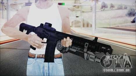SOWSAR-17 Type G Assault Rifle with Grenade para GTA San Andreas terceira tela