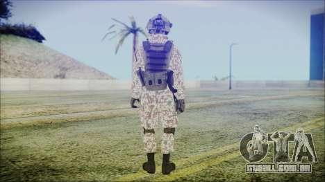 Bundeswehr Desert v2 para GTA San Andreas terceira tela