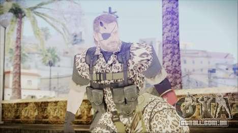 MGSV Phantom Pain Snake Normal Wetwork para GTA San Andreas
