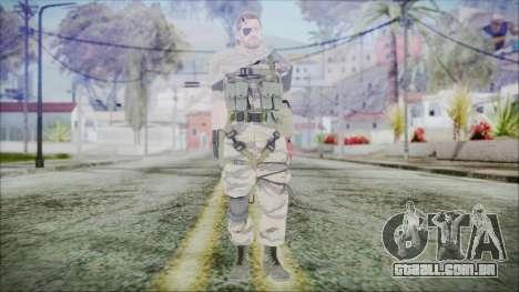 MGSV Phantom Pain Snake Scarf Tiger para GTA San Andreas segunda tela