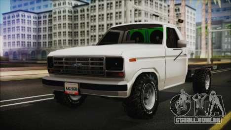 Ford F-150 Con Sonido para GTA San Andreas