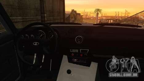 Bully VAZ 2106 Azeri Estilo para GTA San Andreas vista direita