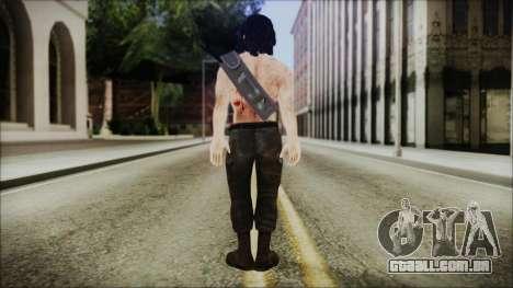 Rambo Skin para GTA San Andreas terceira tela