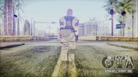 MGSV Phantom Pain Snake Normal Wetwork para GTA San Andreas terceira tela