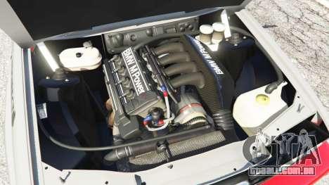 GTA 5 BMW M3 (E30) 1991 [Wild Autonio] v1.2 traseira direita vista lateral