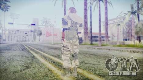 MGSV Phantom Pain Snake Scarf Tiger para GTA San Andreas terceira tela