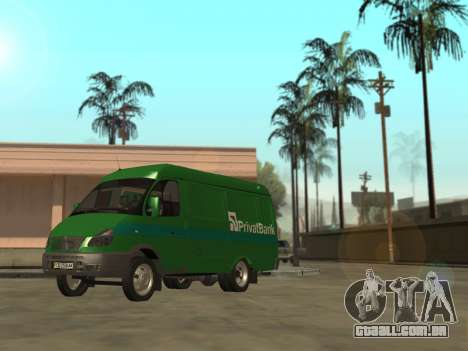 Gazela 2705 Privat v2 para GTA San Andreas esquerda vista