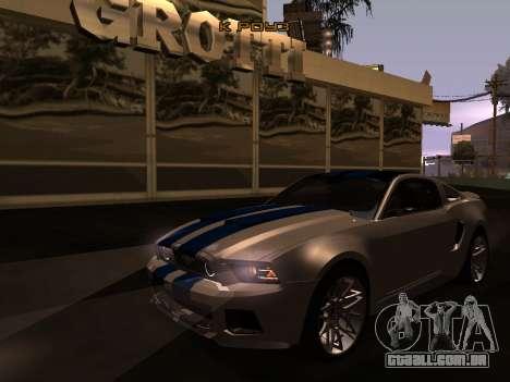 ENB Series [MEDIUM PC] para GTA San Andreas segunda tela