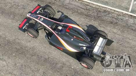 GTA 5 Hispania F110 (HRT F110) v1.1 voltar vista