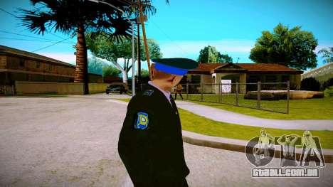O funcionário do Ministério da Justiça v1 para GTA San Andreas terceira tela