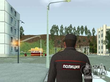 O Sargento do PPS, na forma da nova amostra para GTA San Andreas segunda tela