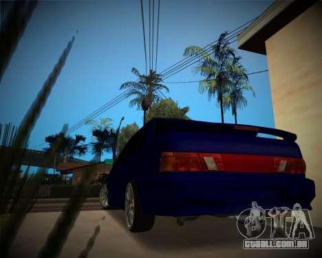VAZ-2115 para GTA San Andreas vista direita