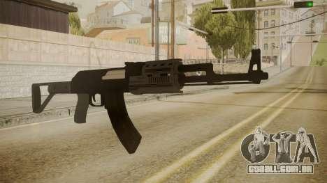 GTA 5 AK-47 para GTA San Andreas segunda tela