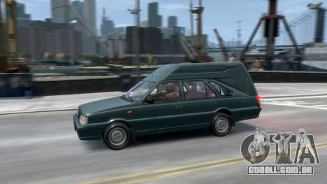 Daewoo-FSO Polonez Cargo Van Plus 1999 para GTA 4 vista inferior