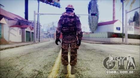 Chinese Army Desert Camo 2 para GTA San Andreas terceira tela