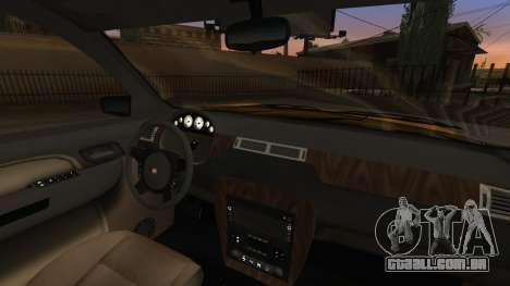 GTA 5 Declasse Granger IVF para GTA San Andreas vista superior