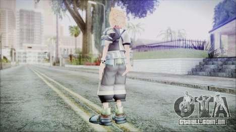 Kingdom Hearts Birth By Sleep - Ventus para GTA San Andreas terceira tela
