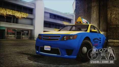 Cheval Fugitive Downtown Cab Co. Taxi para GTA San Andreas
