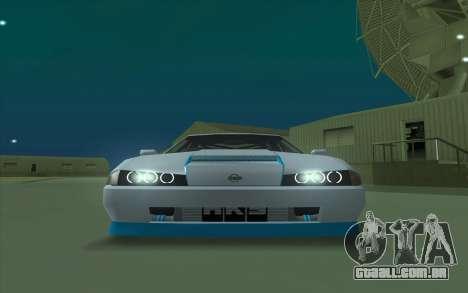 Elegy DRIFT KING GT-1 para GTA San Andreas esquerda vista
