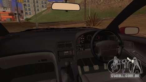 Nissan Fairlady Z Version S Twin Turbo 1994 para GTA San Andreas traseira esquerda vista