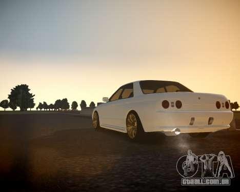 Nissan Skyline ER32 para GTA 4 traseira esquerda vista