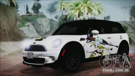 Mini Cooper Clubman 2011 Itasha para GTA San Andreas