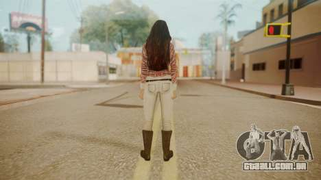 Megan Fox para GTA San Andreas terceira tela