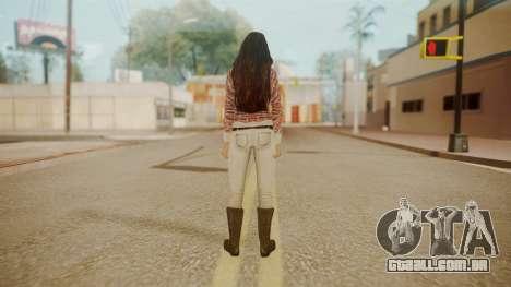 Megan Fox para GTA San Andreas terceira tela