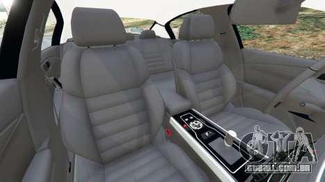 GTA 5 Peugeot 508 vista lateral direita