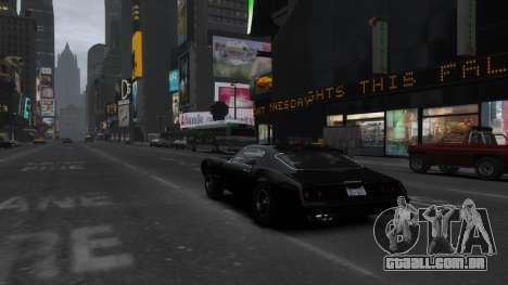 Classic Muscle Phoenix IV para GTA 4 vista lateral