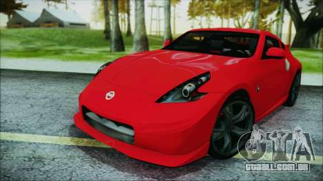 Nissan 370Z Nismo 2010 Angel Beats Itasha para GTA San Andreas