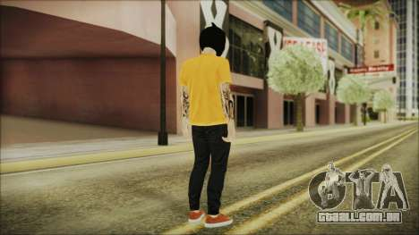 DLC Halloween GTA 5 Skin 3 para GTA San Andreas terceira tela
