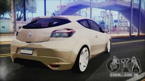 Renault Megane RS para GTA San Andreas esquerda vista